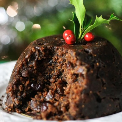 Christmas Pudding with Traditional Rum 900g Gluten Free