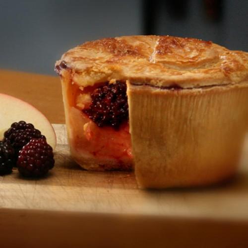 Blackberry and Bramley Apple Pie - Gluten Free Pie