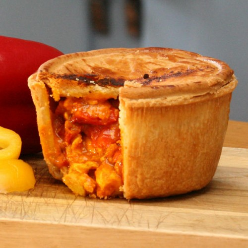 Chicken Curry - Gluten Free Pie