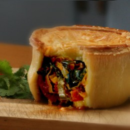 Vegetable Curry Pie - GF,