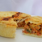 Chicken and Chorizo Award winning Hot Eating - Gluten Free Pie