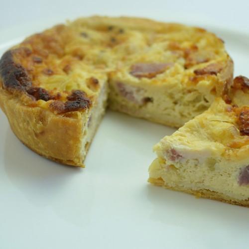 Cheese and Bacon Quiche - Gluten Free Quiche