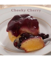 Cheeky Cherry Steamed Pudding Gluten Free