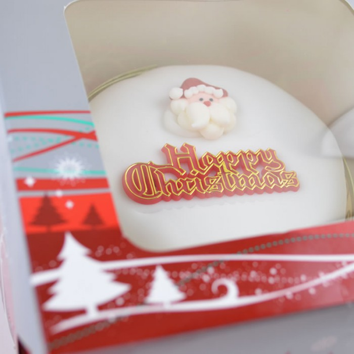 "Christmas Cake Gluten Free - Large Approx. 10"" round"