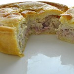 Chicken and Bacon in White Sauce - Gluten Free Pie