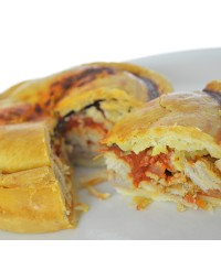 5x Chicken and Chorizo Award winning Hot Eating Pie Gluten Free