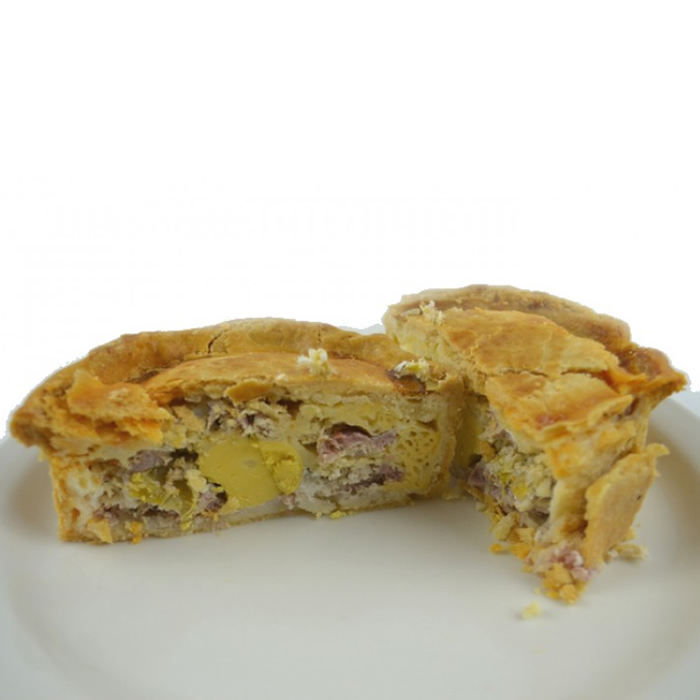 10 x Egg, Bacon and Chorizo Award winning Cold Eating Pie Gluten Free