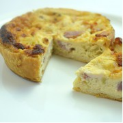 Cheese and Bacon Quiche - Gluten Free Quiche