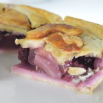 Blackberry and Bramley Apple Pie