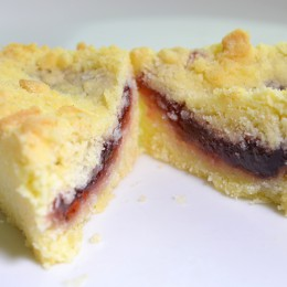 Strawberry Shortbread 12 piece Tray bake Gluten Free