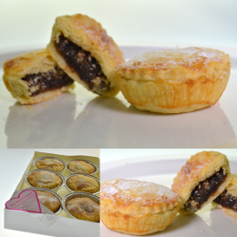 3 x Christmas Mince Pies (Pack of 6)